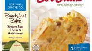 Bob Evans Food Products hand-held breakfast bakes