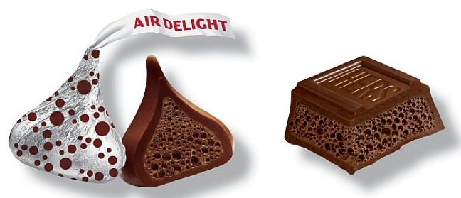 Air Delight Kisses and Bars by Hershey's