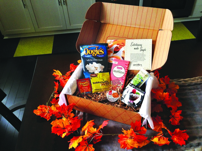 Goodies Co. November box from Walmart