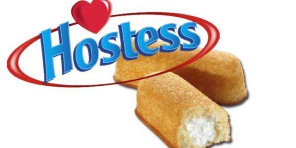 Hostess logo and Twinkies