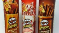 Pringles seasonal holiday flavors