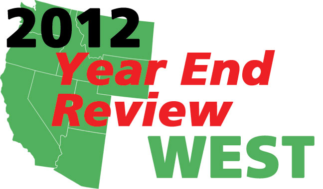 2012's Top Stories In The West