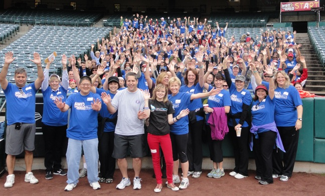 Food Industry Sponsors CF Fundraiser 'Hike the Halo'