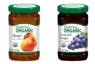 Santa Cruz Organic Fruit Spreads Available In Two New Flavors