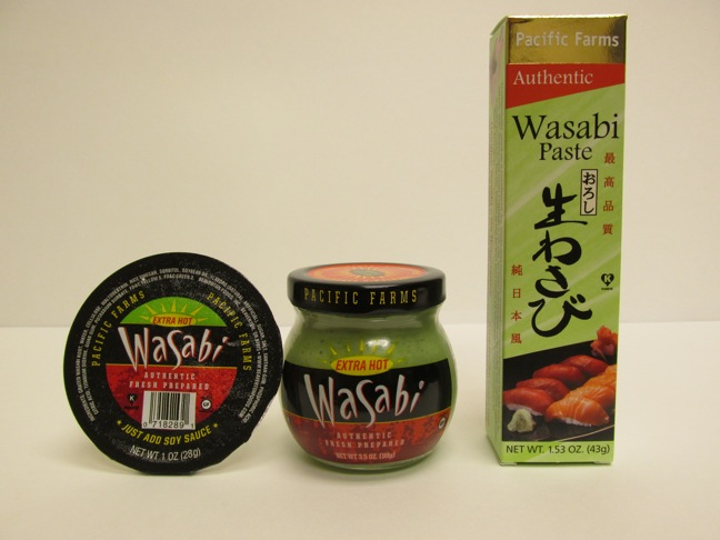 Beaverton Foods Offers Single-Serve Pacific Farms Authentic Wasabi