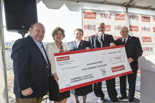 Campbell Soup Donates $500K To Salvation Army Kroc Center In Camden