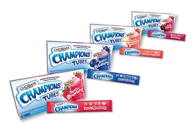 Chobani Champions Tubes