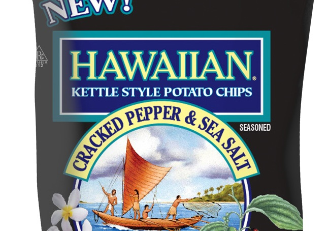 Hawaiian Kettle Style Potato Chips Introduces New Flavor