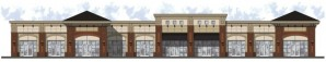 Kroger Marketplace in Gainesville, artist rendering