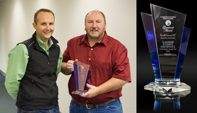 Stemilt Growers Receives Governor's Award For Energy Performance