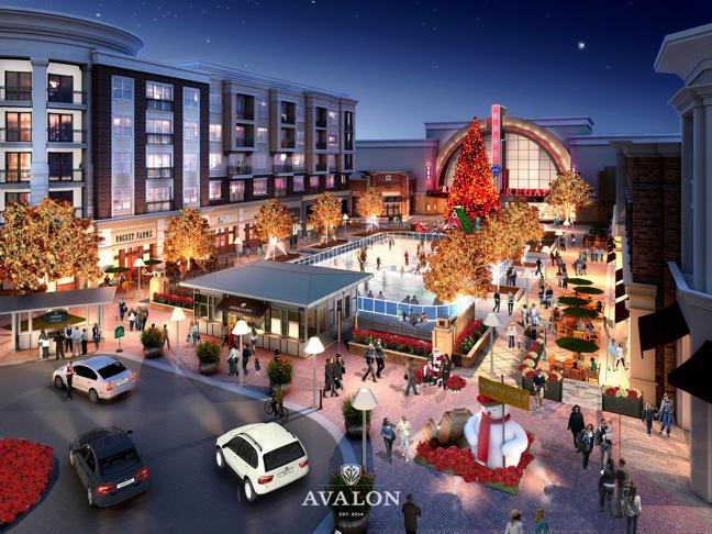 Avalon Alpharetta Ga >> North American Properties Breaks Ground At Avalon In Alpharetta Ga