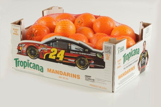 C.H.RobinsonTropicana clementines five-pound race CARton