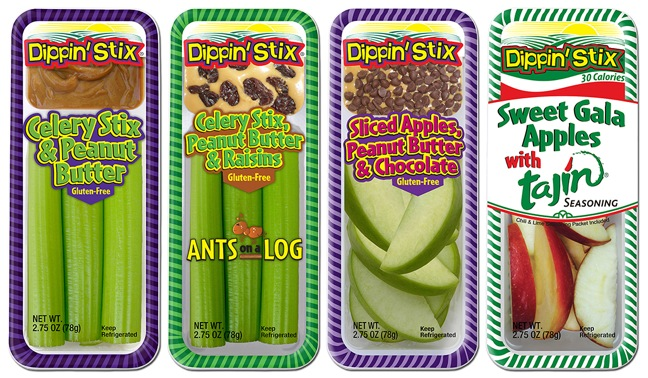 Reichel Expands Dippin' Stix Line With New Celery, Apple Products
