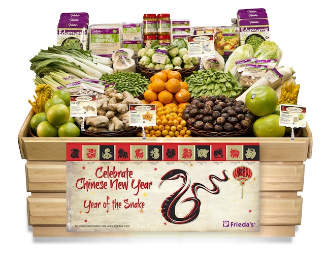 Frieda's Promotes Chinese New Year Produce