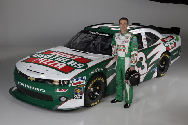 Hunt Bros Pizza Continues Four-Race Sponsorship For Nationwide Season