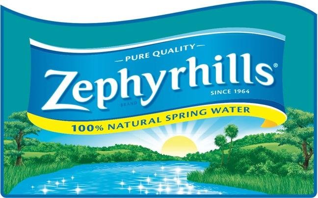 NESTLE WATERS NORTH AMERICA ZEPHYRHILLS LOGO