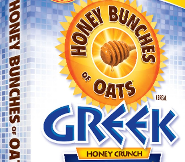 Post Foods Rolls Out Honey Bunches Of Oats Greek Honey Crunch Cereal