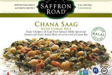 Saffron Road Introduces First Non-GMO Verified Frozen Entrée In U.S.