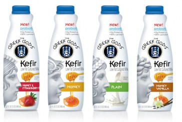 The Greek Gods Brand Launches Kefir Low Fat Cultured Milk