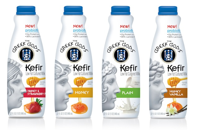 The greek gods brand launches kefir low fat cultured milk for Fat nancy s fishing report