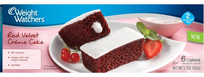 Weight Watchers Introduces New Velvet Creme Cakes