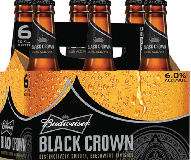 Budweiser To Unveil Black Crown On Jan. 21
