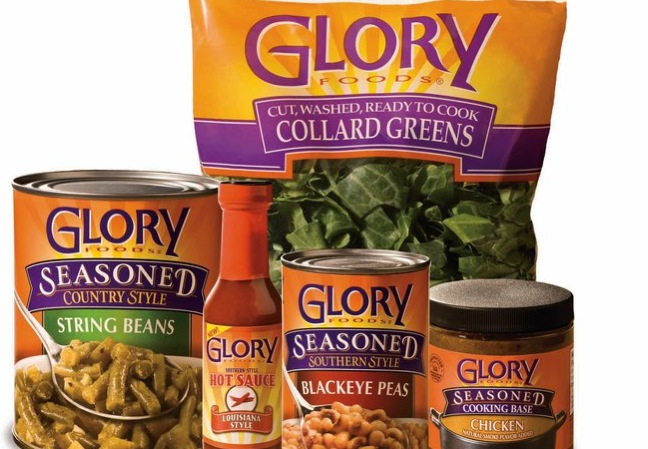 Glory Foods products