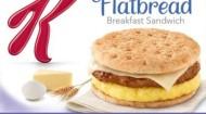 Kellogg's Special K Flatbread Breakfast Sandwich