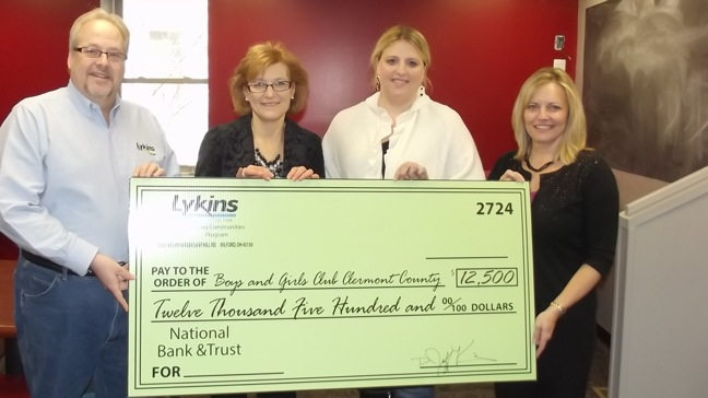 Lykins Oil donation to Boys & Girls Club