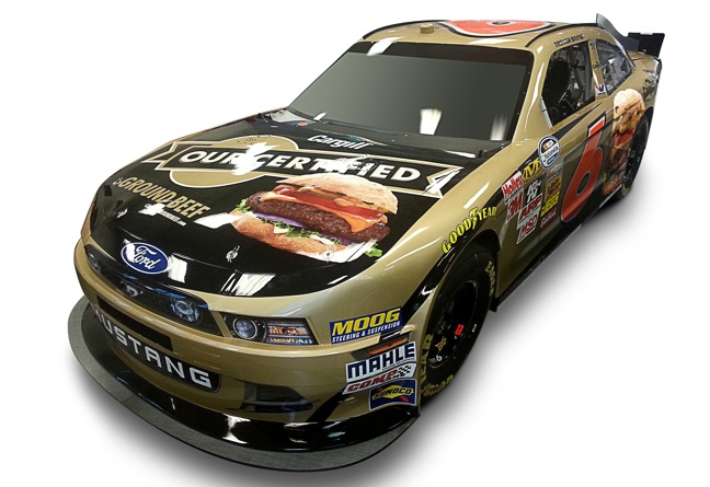 Cargill Racing 2013 NASCAR Season Car Scheme - 2-2013