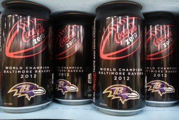 Coke Zero Congratulates Baltimore Ravens With Commemorative Cans