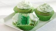 Green Ombre Cupcakes