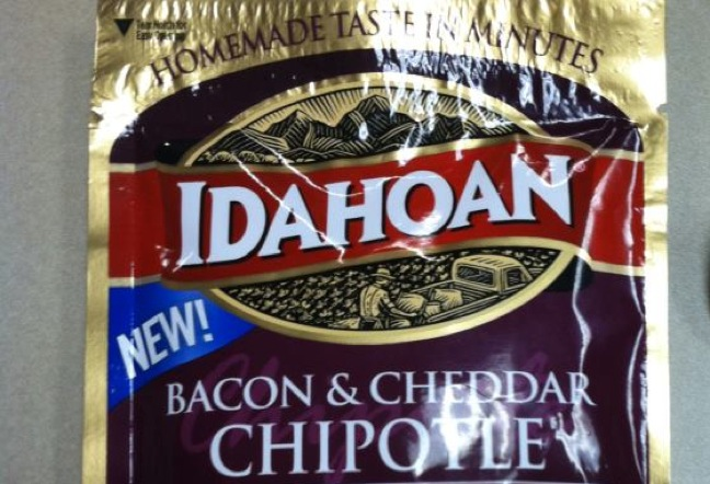 Idahoan's Bacon & Cheddar Chipotle