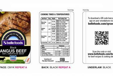 Belle Foods' New Meat Case Labels Help Consumers Get Information