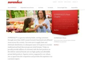 Supervalu webpage screen shot