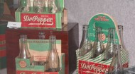 Dr Pepper museum bottles