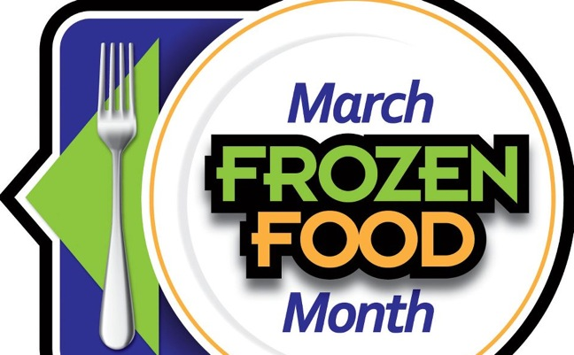March Frozen Food Month art