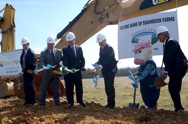 Shamrock Farms To Build New Dairy Manufacturing Plant In Va.