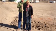 Hi Mountain Seasonings ground breaking with Hans and Kimberly Hummel
