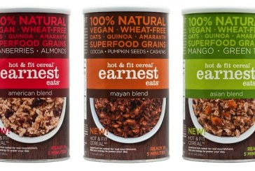 Earnest Eats Adds New Granola Bars And Hot & Fit Cereals