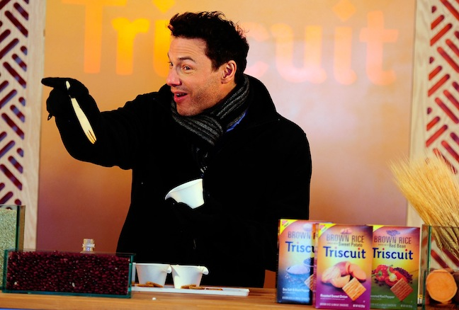 MONDELEZ INTERNATIONAL BROWN RICE TRISCUIT LAUNCHES WITH ROCCO DISPIRITO