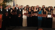 USC Awards Dinner for FIM students