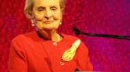 Madeline Albright at the WAFC convention