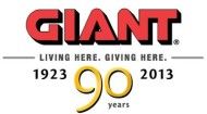 Giant 90th anniversary logo
