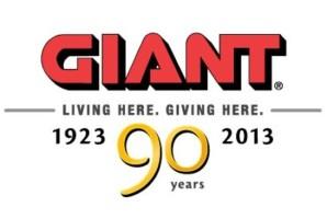 Giant 90th anniversary logo