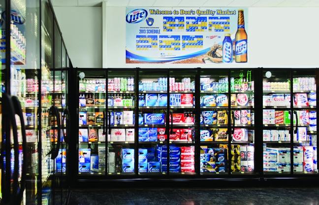 zero zone crystal merchandiser - Beer Merchandiser