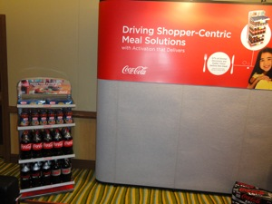 Coke Meal Solutions display at Future Connect 2013