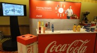 Coke display at FMI Future Connect
