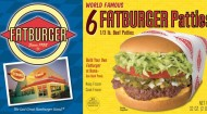 FATBURGER PATTIES