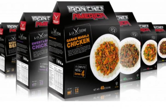 Iron Chef America Debuts Home Meal Kits